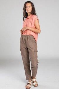 "Hose ""Padama"" Light Pocket in walnussbraun  - [eyd] humanitarian clothing"