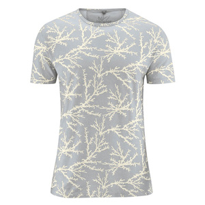 HempAge Herren T-Shirt Koralle Hanf/Bio-Baumwolle - HempAge
