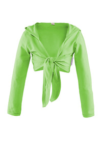 Bolero mit Kapuze   Größe 86-92 - CHARLE - sustainable kids fashion