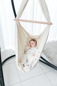 Baby-Federwiege Natur - SCHMUSEWOLKE