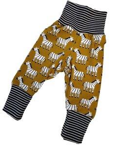 Babyhose aus Biojersey Zebras - Omilich