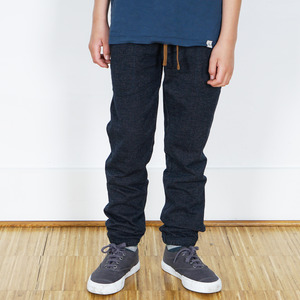 Slim Fit Denim Jogger Hose aus 100% Bio-Baumwolle - Band of Rascals