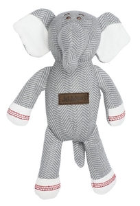 Rassel Elefant Bio Baumwolle Driftwood Grey Juddlies - JUDDLIES