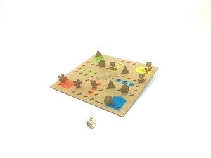 Holzbrettspiel - SPIELZ - Spiel mit Zirbenholz