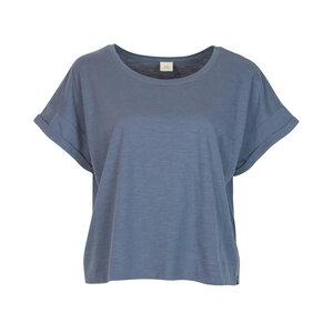 WENDY - Damen - lockeres T-Shirt für Yoga aus 100% Biobaumwolle - cropped - boxy cut - Jaya