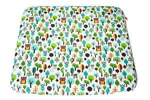 Wickelauflage 85x75 cm I phtalatfrei I ökotex 100 I Innenteil wasserabweisend I Bezug waschbar - unterschiedliche Designs! - Millemarille