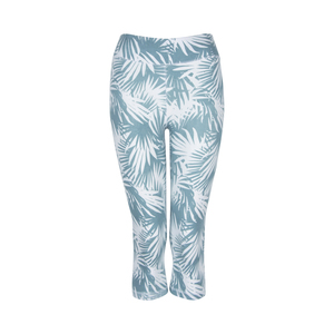 3/4 Leggings Noni, white/green - Jaya