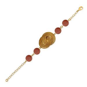 Armband Katrin Bio aus Golden Grass - Aline Celi