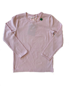 Basic Langarmshirt Alfa Rose - Green Cotton
