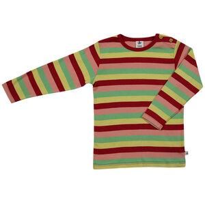 Langarmshirt Ringelshirt Bio-Baumwolle Oberteil T-shirt - Leela Cotton