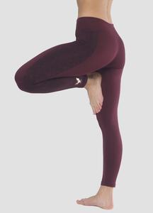 Yoga Leggings Lakshmi Mystic Red - Kismet Yogastyle