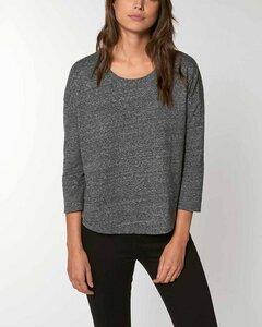 Damen Shirt mit 3/4-Ärmeln aus Bio Baumwolle - YTWOO