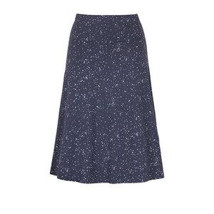SUMMER STARS - Damen - Sommerrock aus Biobaumwolle - A-Linie - Dunkelblau - Jaya