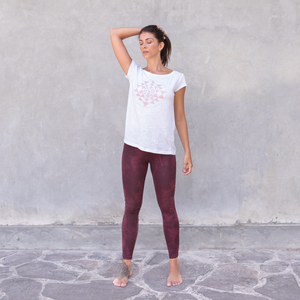 JENNY - Damen - High Waist Leggings für Yoga und Freizeit aus Biobaumwolle - Jaya