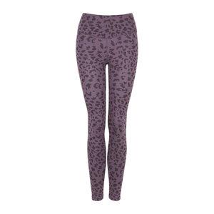 LEONIE - 2-farbig - Damen - High Waist Leggings für Yoga und Freizeit aus Biobaumwolle - Lila - Jaya