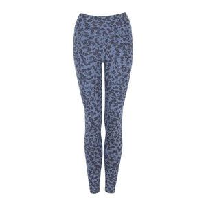 LEONIE - 3-farbig - Damen - High Waist Leggings für Yoga und Freizeit aus Biobaumwolle - Blau - Jaya