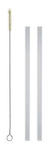 Set: strawbrush Reinigungsbürste + zwei soulstraws Trinkhalme - soulbottles
