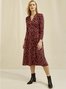 Kleid - Hallie Wildflower Dress  - People Tree