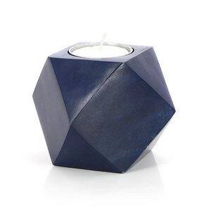 Teelichthalter aus Stein geometrisch - Mitienda Shop