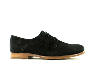 Maple Black Suede Schuhe - ekn footwear