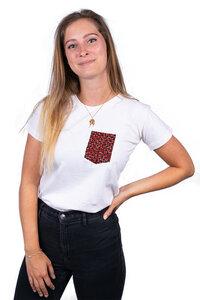 """Damen T-Shirt """"Fuko Red"""" aus Biobaumwolle - Matema"""