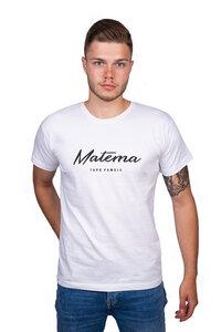 """Herren T-Shirt """"Kawaida White"""" aus Biobaumwolle - Matema"""