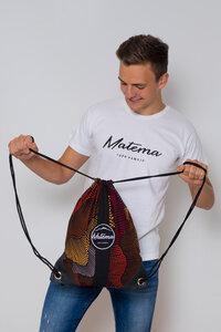 "Gymbag ""Moto"" - Turnbeutel aus Kitenge - Matema"