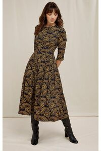 Kleid - V&A Rosa Print Dress - People Tree