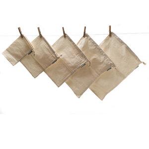 5 Unverpacktbeutel | Bio-Baumwolle | Verschiedene Größen - samebutgreen