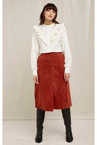 Rock - Rachel Velvet Skirt - People Tree