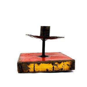 Kerzenhalter aus Ölfässern - Mitienda Shop
