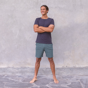 AXEL MELANGE - Männer - Shorts für Yoga und Freizeit aus Biobaumwolle - Jaya