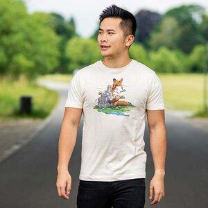 Robert Richter – Clean the World II (Fox) - Organic Cotton T-Shirt - Nikkifaktur