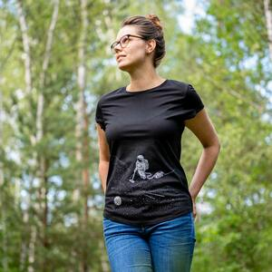 Robert Richter – Space Cleaner - Ladies Low Carbon Organic Cotton T - Nikkifaktur