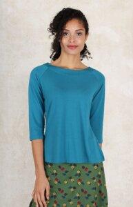 """T-Shirt aus Bambus-Fasern und Bio-Baumwolle """"LB-010 Zoa solid"""" - Lykka du Nord"""