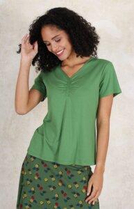 """T-Shirt aus Bambus-Fasern und Bio-Baumwolle """"LB-011 Elle solid"""" - Lykka du Nord"""