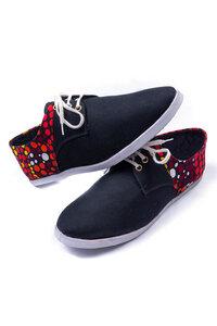 "Damen Sneakers ""Ndugu Red"" - Matema"