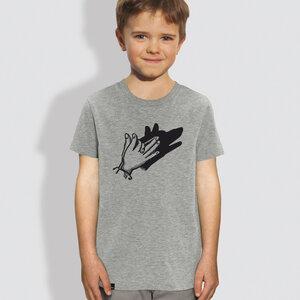 "Kinder T-Shirt, ""Schattenspiel"" - little kiwi"