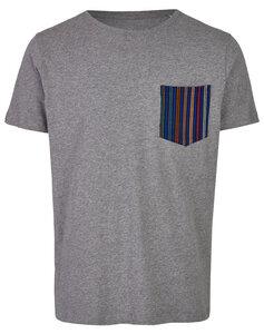 Basic Bio Taschen T-Shirt (men) Blueprint - Brandless