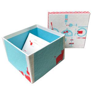 Kochkiste mit 50 blanko Rezeptkarten - Salon Elfi