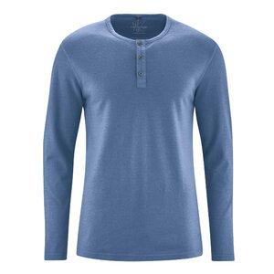 HempAge Herren Langarm-Shirt Hanf/Bio Baumwolle - HempAge
