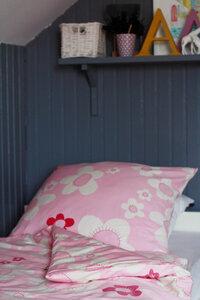 Bettwäsche blume rosa - ingegerd