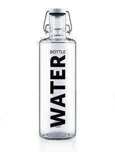 "soulbottle 1,0l • Trinkflasche aus Glas • ""Water bottle"" - soulbottles"