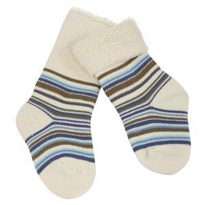 Grödo Baby Vollfrottee Ringel-Socken Bio-Baumwolle - grödo