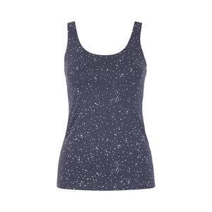 CHARLEY STARS - Damen - Top für Yoga aus Biobaumwolle - Dunkelblau - Jaya