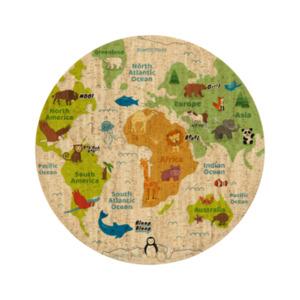 """Korkteppich Spielteppich Cork Rug Teppich aus Kork  """"My little World"""" - Corkando-KIDS"""