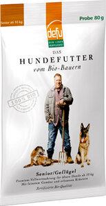 defu Bio-Hundefutter Senior Geflügel  - defu - dem Leben verpflichtet