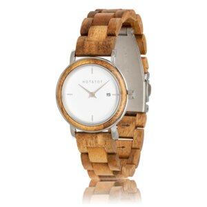 Armbanduhr aus Holz | Damen HEMERA Akazienholz | 32 mm | handgemacht | vegan - HOT&TOT