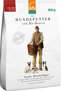 defu Bio-Hundefutter Senior Mini Geflügel  - defu - dem Leben verpflichtet