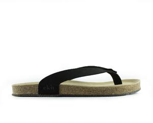 Sandale sandal / schwarz vegan / recycelte sohle - ekn footwear